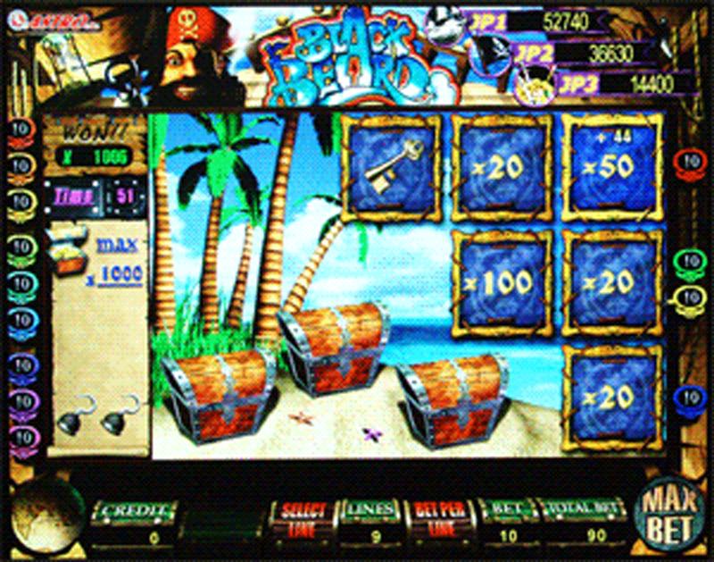 игровой автомат черная борода играть бесплатно