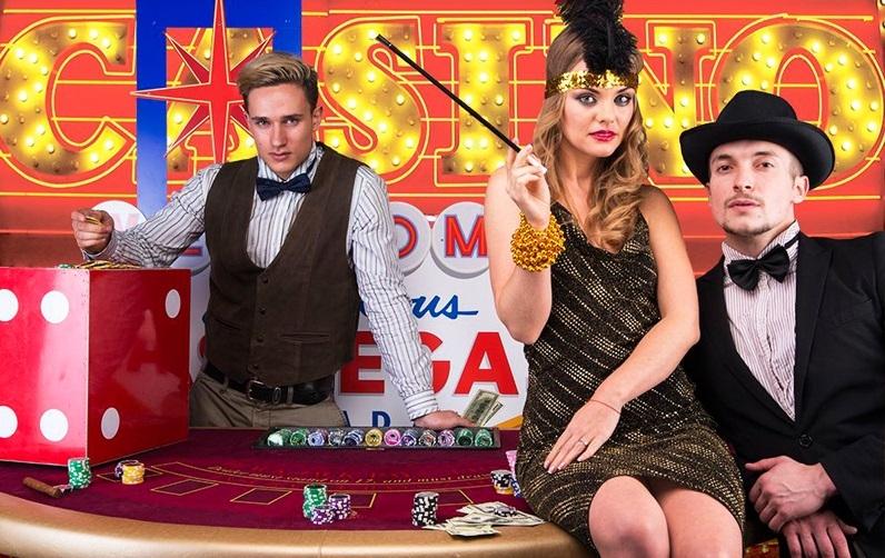 вечеринка в стиле казино фото
