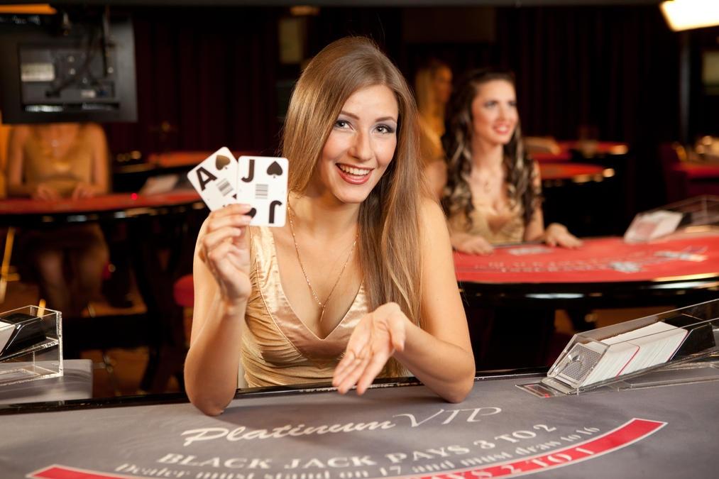 работница магнита выиграла в казино