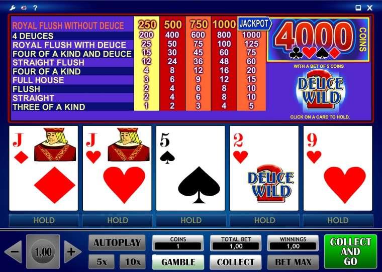 ігрові автомати покер двійки
