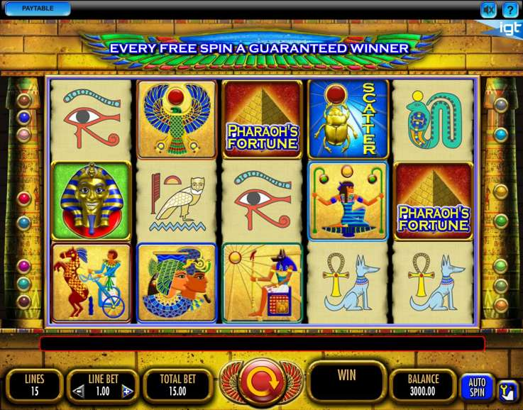 игры на андроид слот фараон