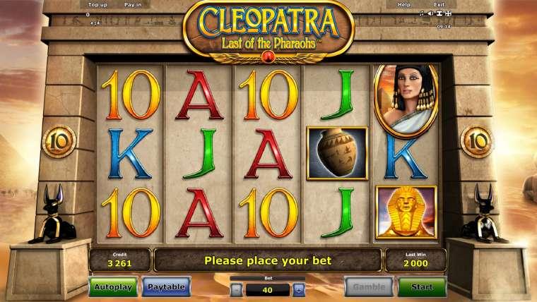 Клеопатра игровые автоматы