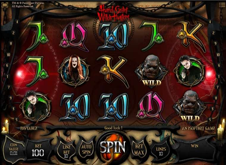 игровой автомат ведьма
