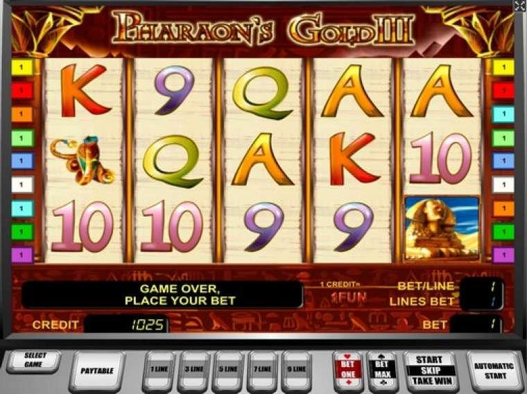 игровой автомат pharaohs gold 3