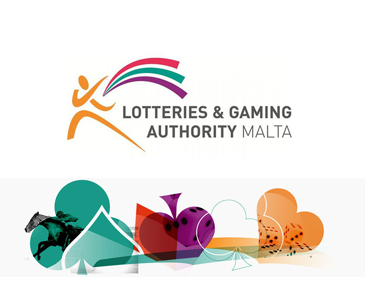 The Lotteries and Gaming Authority of Malta logo