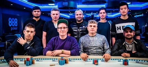 2016 888Live Poker Festival London Main Event Finalists