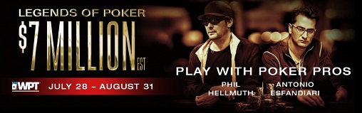 2017 WPT Legends of Poker banner