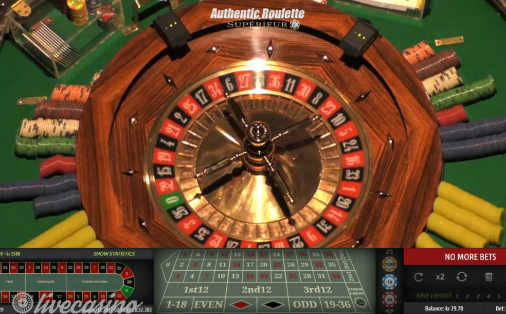Authentic Roulette