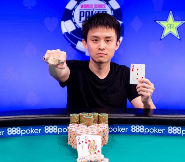 Ben Yu wins WSOP2018 №77 High Roller Event