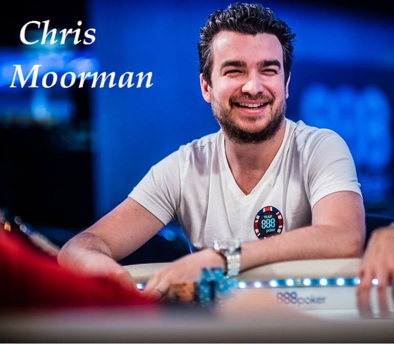 Chris Moorman at 2018 888poker LIVE festival Barcelona