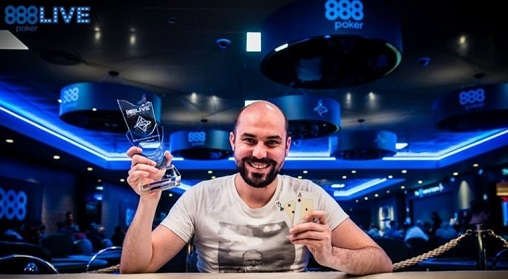 Eric Le Goff Wins High Roller 2016 888Live Poker Festival London