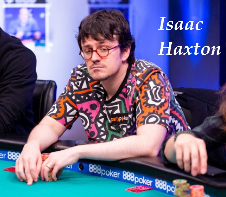 Isaac Haxton at WSOP2018 №77 High Roller Event