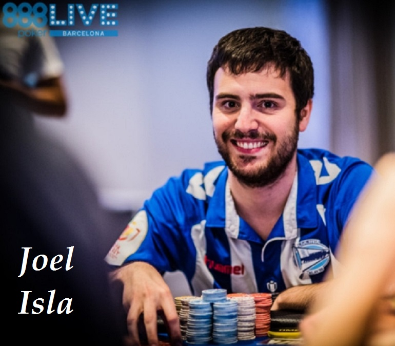 Joel Isla at 2018 888poker LIVE Barcelona