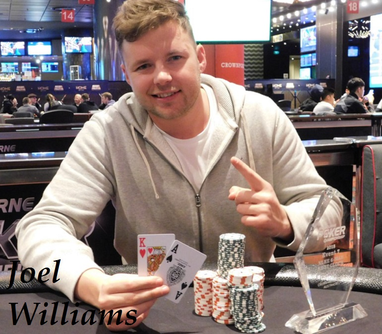 Joel Williams wins 2018 Melbourne Poker Champs 6-Max Champ