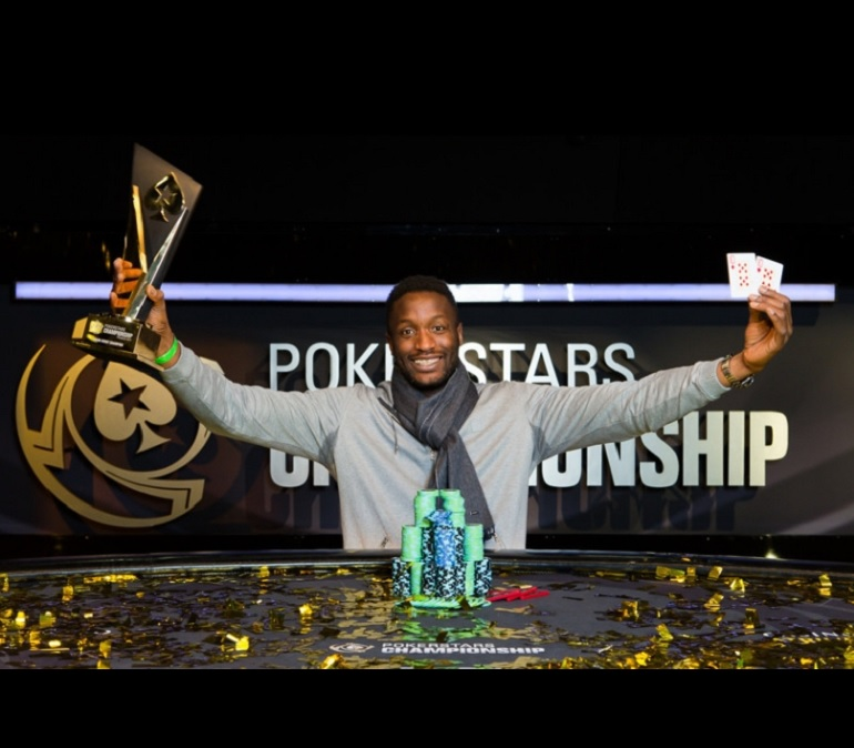 Kalidou Sow wins 2017 PokerStars Championship Prague ME