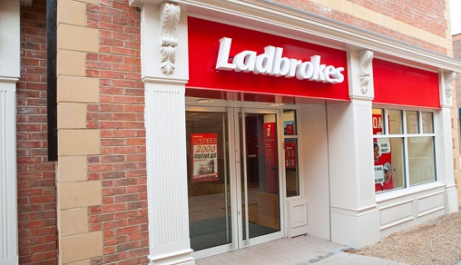 LADBROKES shop
