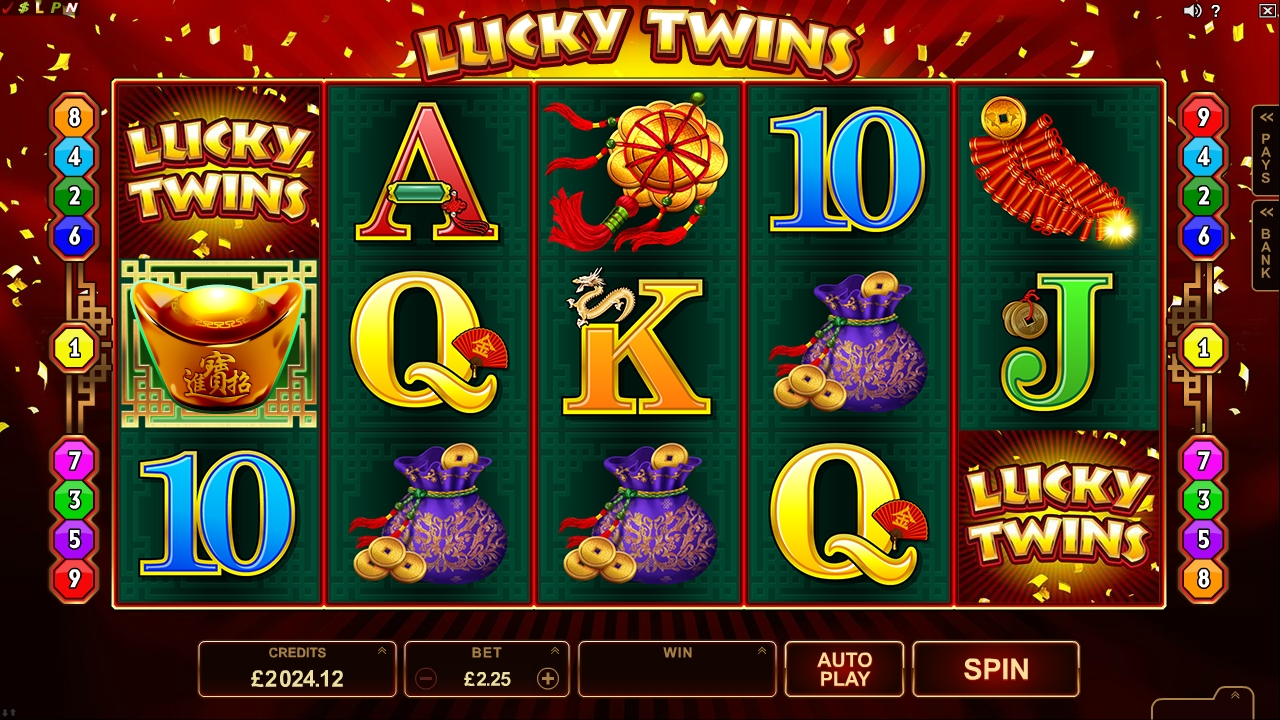 lucky twins video slot