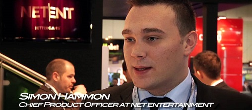 Simon Hammon, Chief Product Officer of Net Entertainment
