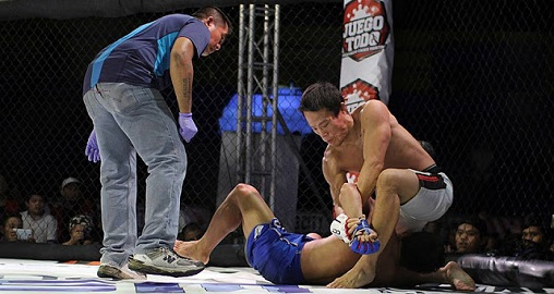 Terrence Chan wins MMA fight 2