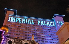 The Imperial Palace in Las Vegas