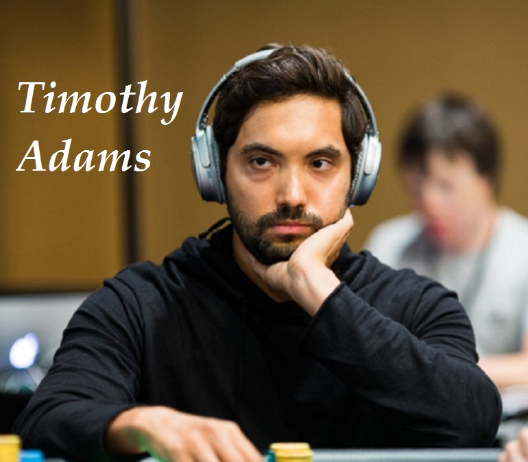 Timothy Adams at 2018 PS EPT Barcelona SHR event