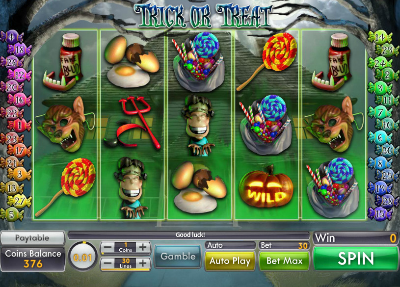 Trick or Treat Genii video slot