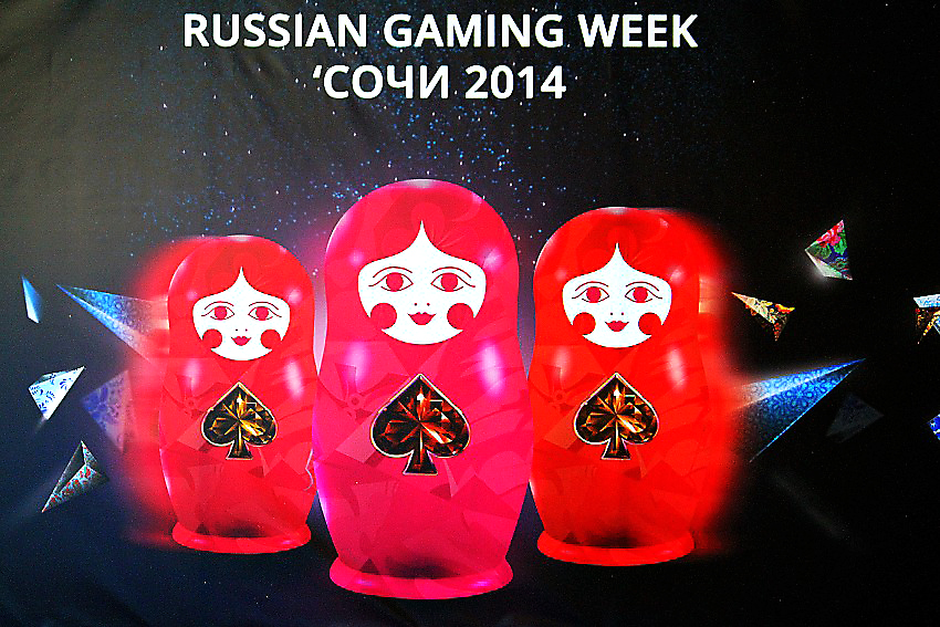 выставка-форум Russian Gaming Week Сочи 2014