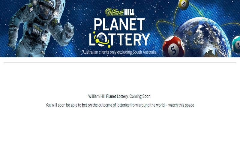 William Hill announces Planet Lottery